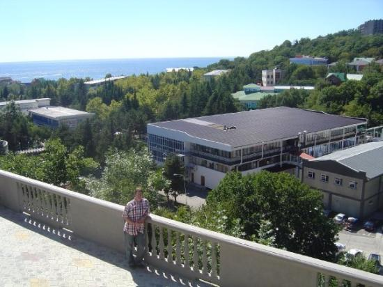 Novorossiysk, Rusland: Hotel on the Black Sea