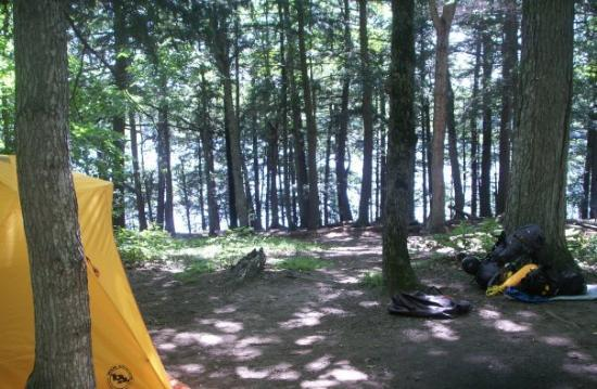Watersmeet, MI: 4th Campsite & Lake