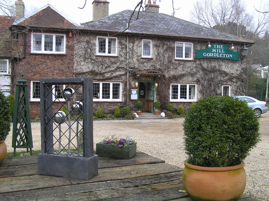 The Mill at Gordleton: Front of hotel