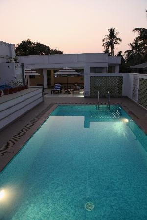 Tissa's Inn: Rooftop pool