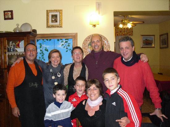 Sarteano, إيطاليا: felicità è stare insieme all'hotel roberta