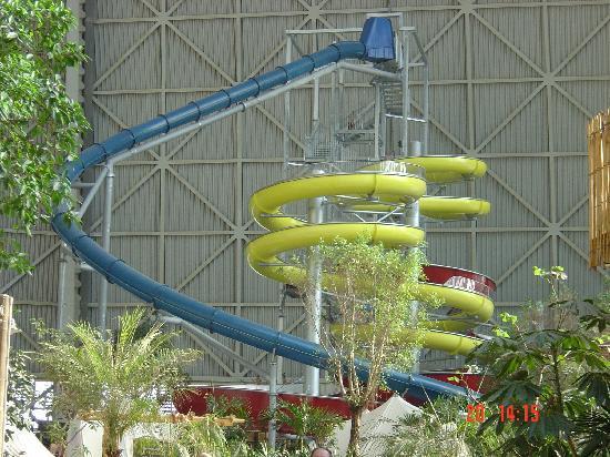 Tropical Islands Resort : Huge slide!