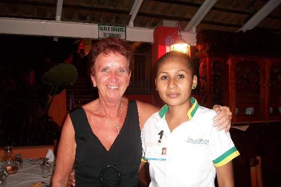 Hotel Decameron Los Cocos : Marie une perle des perles. elle est une femme de coeur et une merveilleuse hôte..bravo