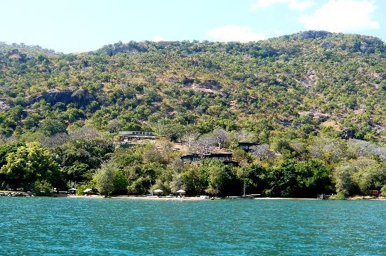 Lake Malawi National Park, Malawi : View form lake