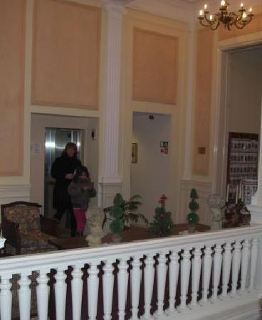 Best Western Plus Park Hotel Brussels: Corridor