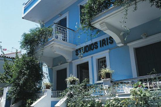 Le devant des studios Iris