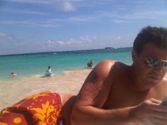 Coral Beach Club Villas & Marina: First day at Dawn Beach