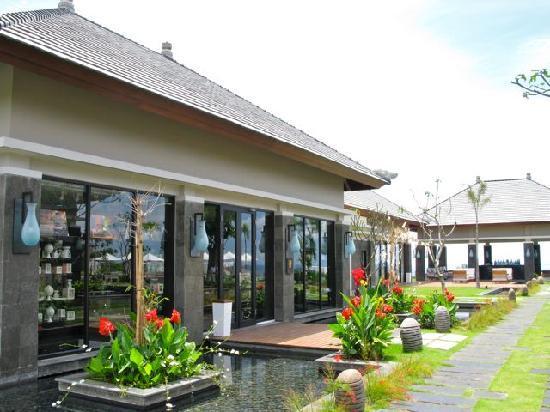 Banyan Tree Ungasan, Bali: shop and library