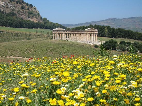 Calatafimi-Segesta, Italie : Segesta