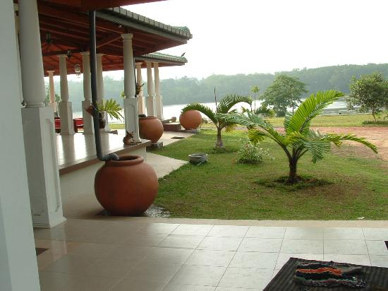Lake View Rest : The View of The Walgama Lake from the Eastern wing