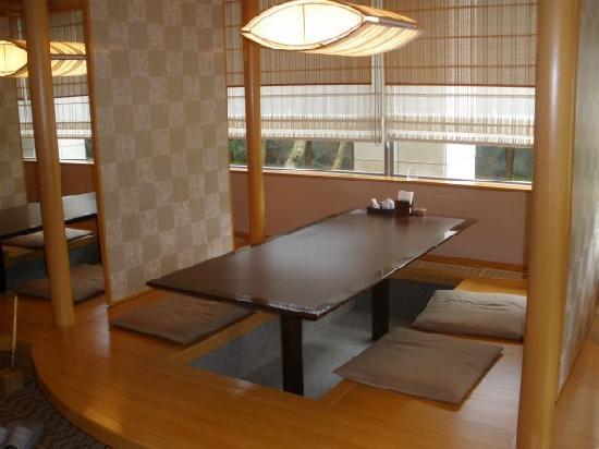 Aeria Tohno: Hotel Aeria, Tohno. Il ristorante.
