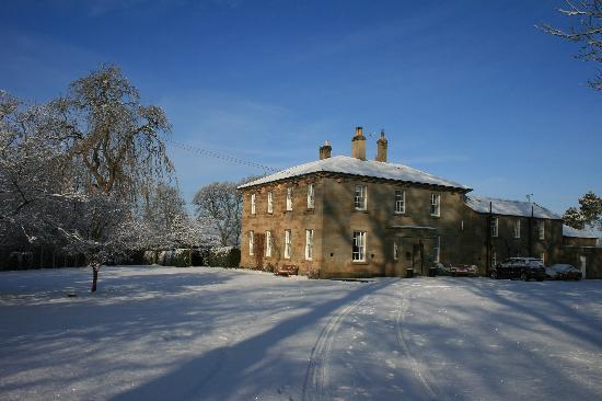 Chatton Park House: The Mansion in the snow
