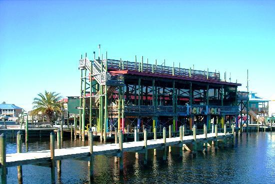 Beautiful from the water picture of tacky jack 39 s tavern for Fish river grill gulf shores