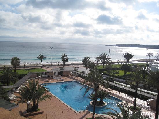Protur Playa Cala Millor Hotel: la vista desde la habitacion