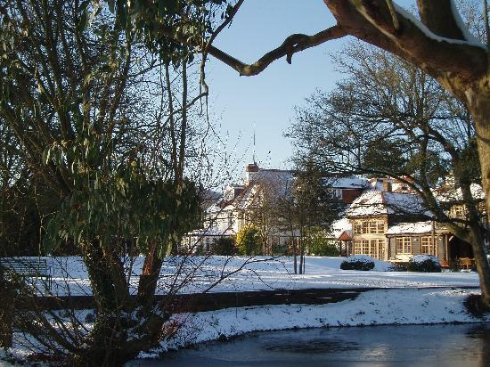 Park House Hotel & Spa: the hotel form the golf course!