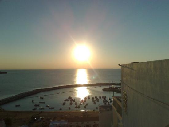 Peschici, Italy: Západ slunce upě stejné jak v ŽIPĚ !!_!!