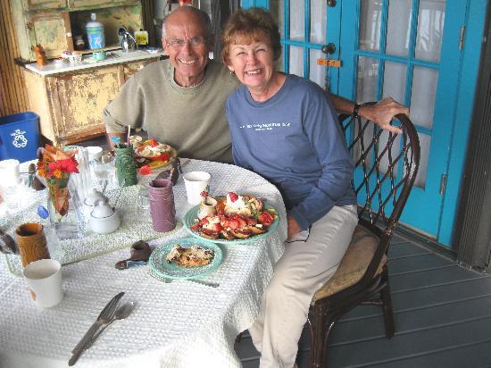 Deer Run Bed & Breakfast: fantastic breakfasts