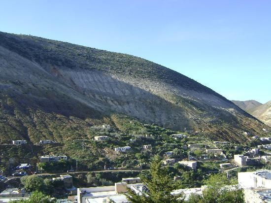 Refugio Romano: vista desde el hotel