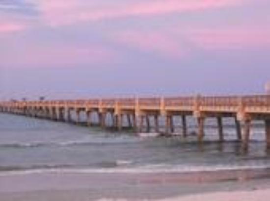 Jax Beach Fishing Pier Sunset Picture Of Jacksonville