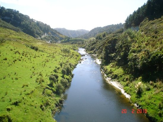 New Plymouth, Nowa Zelandia: River Patea ,Taranaki , New Zealand