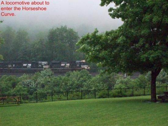 Bilde fra Horseshoe Curve National Historic Landmark