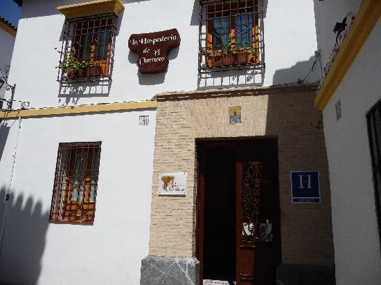Hospederia de El Churrasco: Outside