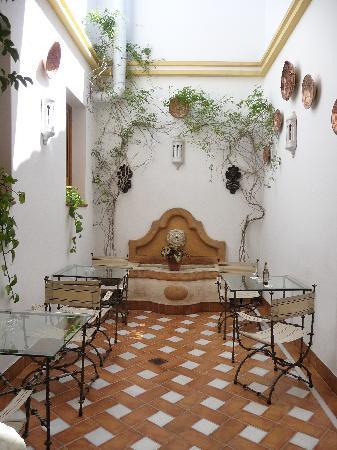 Hospederia de El Churrasco: Courtyard