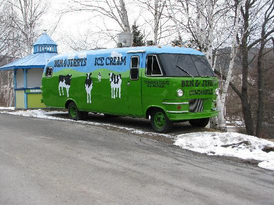 Ben & Jerry's: Tour bus
