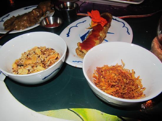 Rainforest Restaurant at Ecolodge: Indonesian set menu