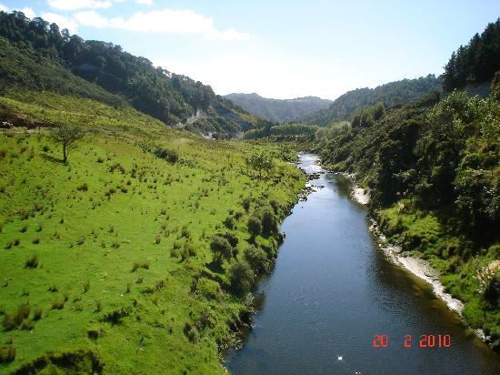 New Plymouth, Nueva Zelanda: River Patea,Taranaki, New Zealand