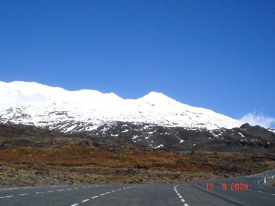 New Plymouth, New Zealand: Mt.Ruapehu, Whakapapa,New Zealand