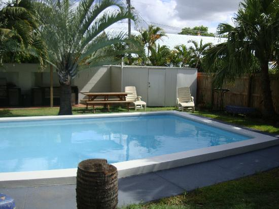 Queensland Motel: swimming pool