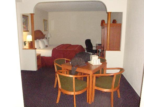 Comfort Inn & Suites: One half of suite