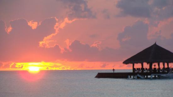 Taj Exotica Resort & Spa: sunset