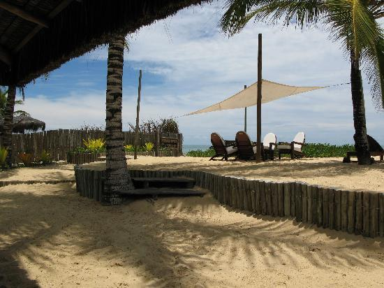 Villas de Trancoso Hotel: Beach Seating