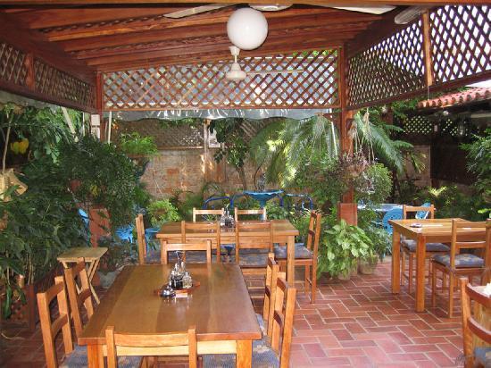 La Cocina de Lilliam Restaurant : Terraza