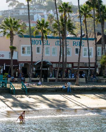Hotel Mac Rae: On the beach!