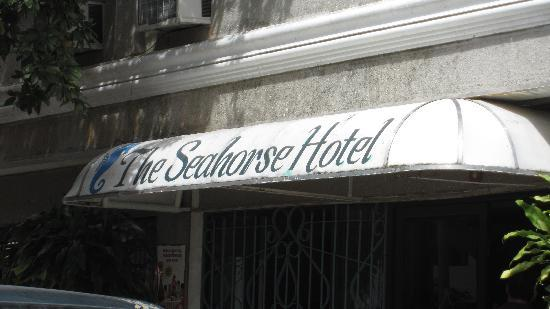 The Seahorse Hotel & Restaurant: 入り口 - Entrance