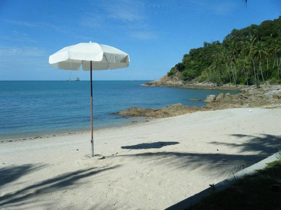 Arayaburi Boutique Resort: Beach front at the Arayaburi