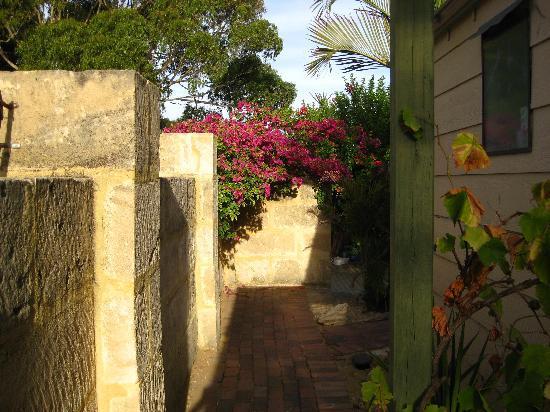 Western Beach Lodge : garden area
