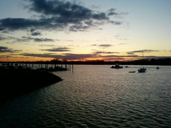 City Island, État de New York : the view across the street