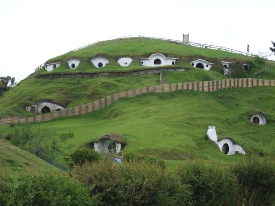 Matamata, Neuseeland: Movie Scene from LOTR