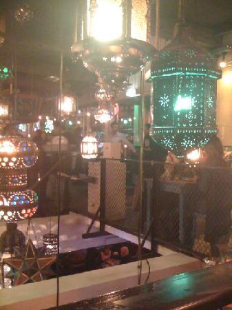 Bazar: Interior lights