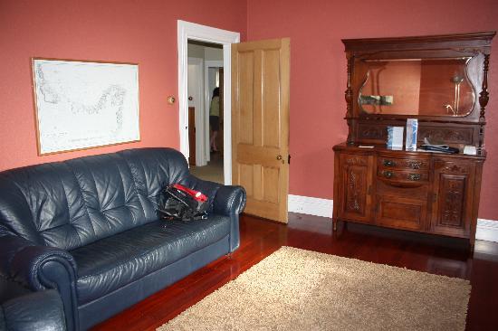 White Island Rendezvous: Living room