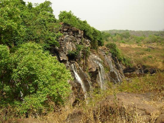 Repubblica Centrafricana: les chutes en saison seche