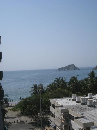 Hotel Betoma: Toward the beach from Balcony