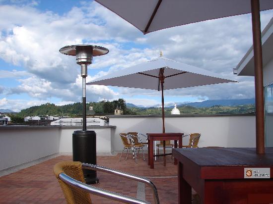Hotel San Jeronimo: la terraza del hotel