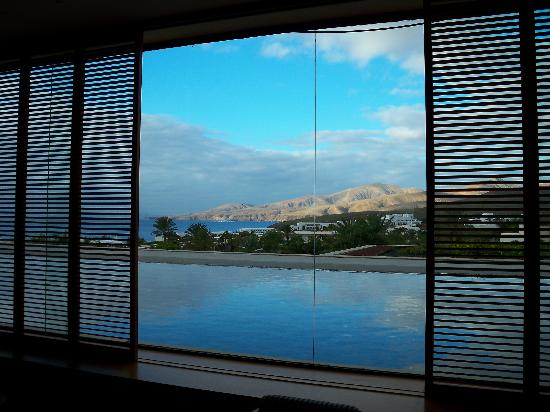Hotel Costa Calero: View from the lobby