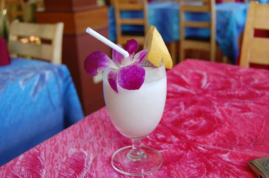 KAMALA BEACH INN: bananashake