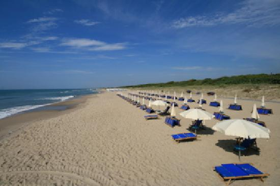 Riva dei Tessali Golf Club & Resort: the private beach